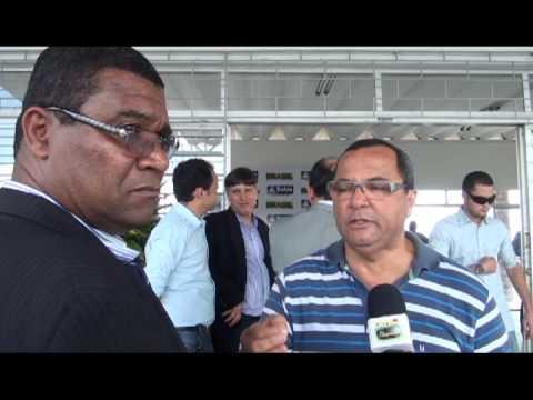 Ex Vereador Genésio Serafim fala da sua alegria sobre a reforma do aeroporto João Durval Carneiro