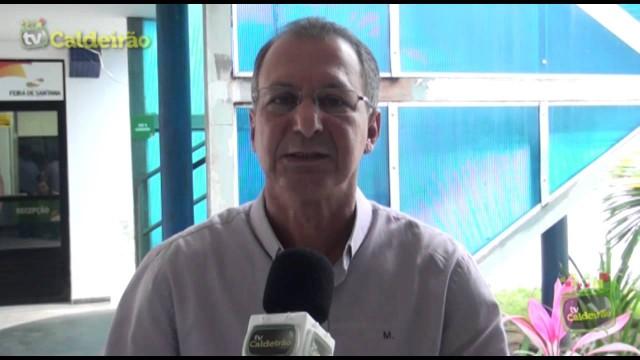 Presidente do sindicato dos radialistas Valter Vieira mostrou indignação com o sistema de transporte em Feira de Santana