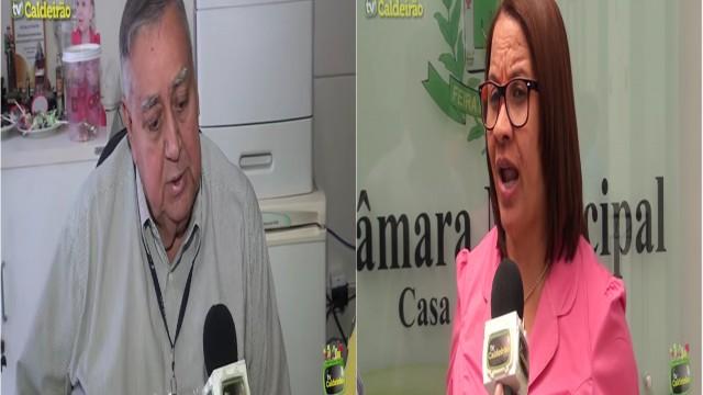 Vereadora Neinha rebate críticas do diretor do HGCA José Carlos Pitangueira e fala que não precisa de hospital para se eleger