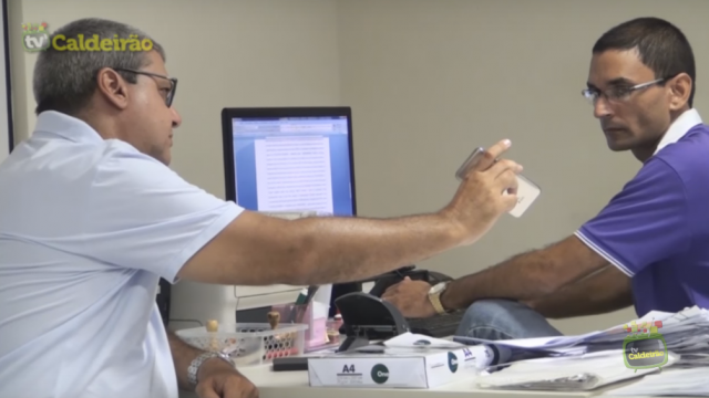 Prefeito de São Gonçalo dos Campos, Antônio Dessa (Furão) denuncia empresário por ameaças de morte