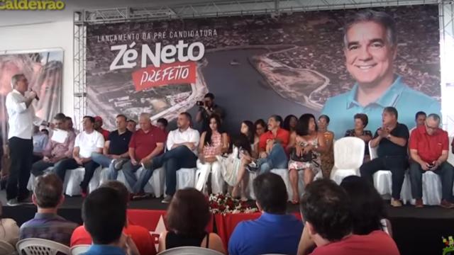 Autoridades falam da pré-candidatura do deputado Zé Neto a prefeito de Feira de Santana
