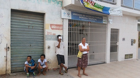 Moradores do loteamento Morada Tropical reclama de atendimento no PSF do bairro