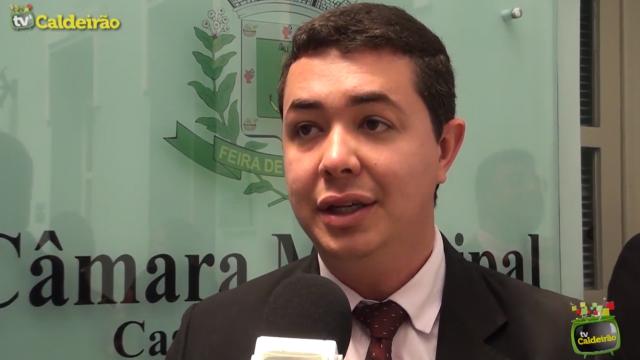 Advogado Ícaro Ivvin fala sobre a possibilidade de assumir o cargo de procurador da Casa Legislativa