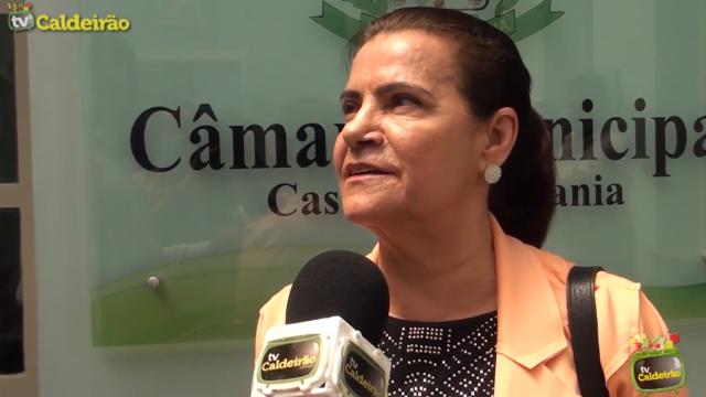 Vereadora Eremita Mota afirma que a eleição da presidência não foi de forma democrática