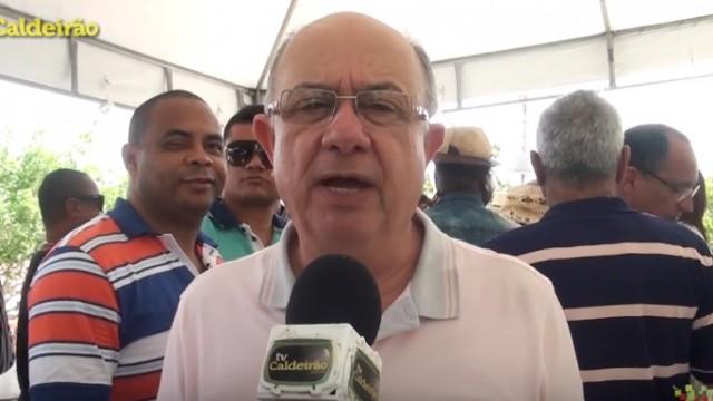 Prefeito José Ronaldo marca presença na Missa do Vaqueiro de Jaguara