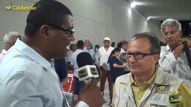 Superintendente de Trânsito Maurício Carvalho fala da sua responsabilidade com a preparação da fiscalização dos viadutos e dos túneis