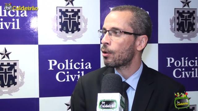 Coordenador da Polícia Civil Roberto Leal fala sobre a morte de Bruna Santana
