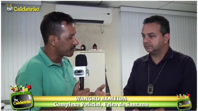 Delegado Fabrício Linard fala sobre alta de homicídios em Feira de Santana