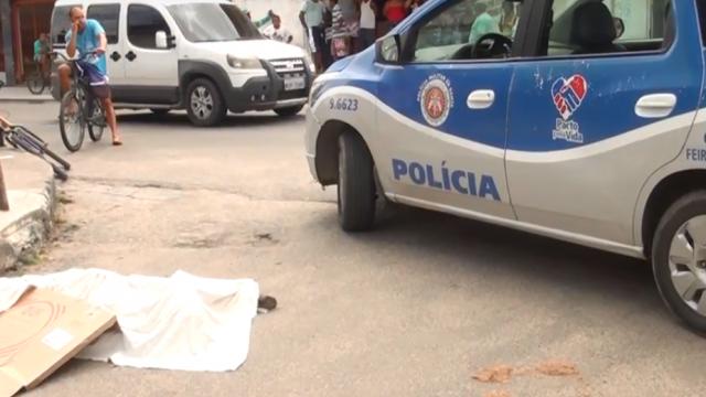 Suspeito de tentativa de assalto é assassinado na Queimadinha