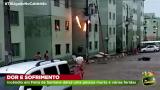 Tragédia – Incêndio em condomínio do Minha Casa Minha Vida deixa uma pessoa morta e várias feridas